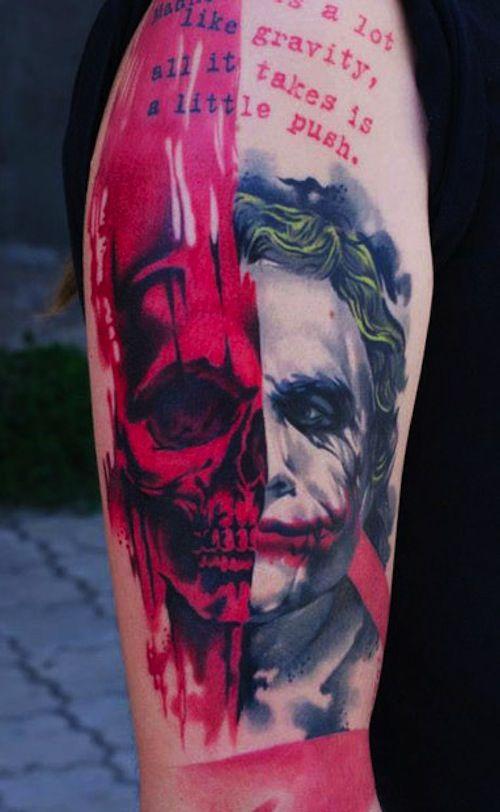 15 BEST JOKER TATTOOS | Tattoo.com