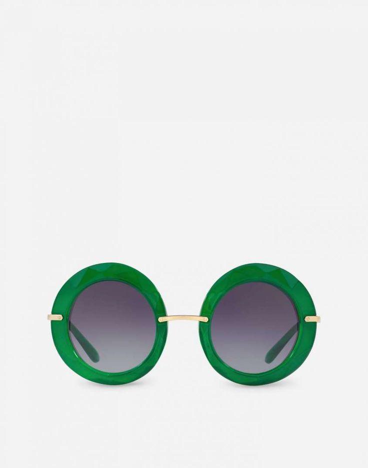 Occhiali da sole Dolce & Gabbana della collezione Primavera/Estate 2017 - Occhiali da sole verdi