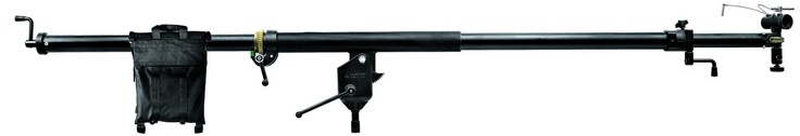 We carry Manfrotto's Mega Boom 425B that extends to a maximum of 12ft