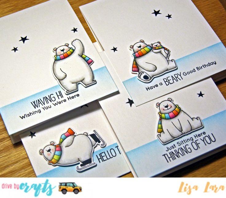 Set of POLARS by lisa lara - Cards and Paper Crafts at Splitcoaststampers