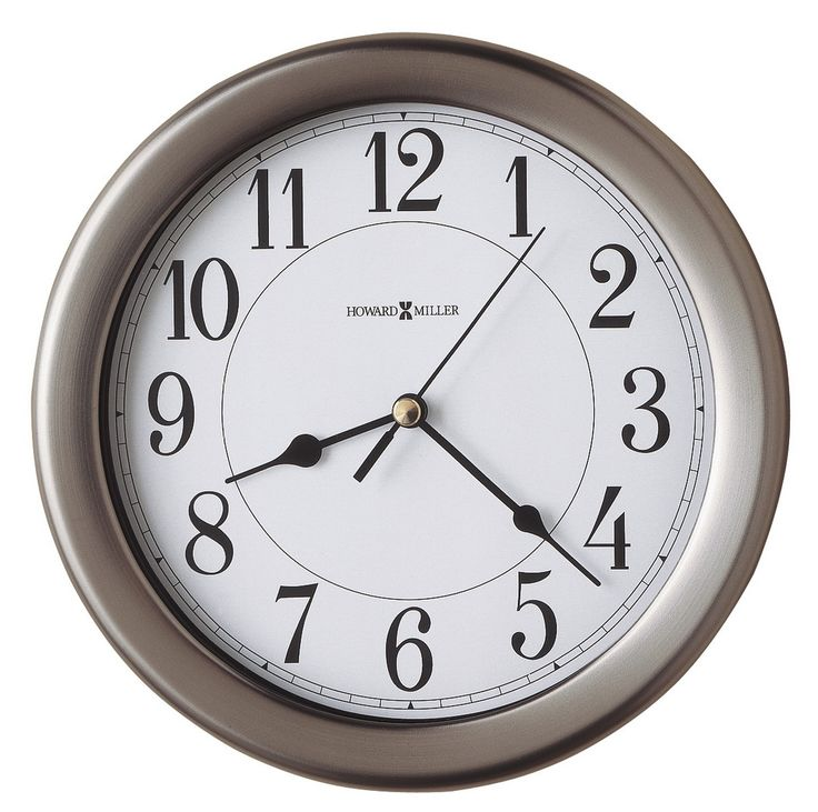 Found it at Clockway.com - 8.5in Howard Miller Wall Clock - CHM2674