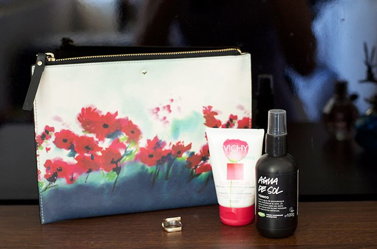 Perfect for evert day! #vichy #lush #katespade