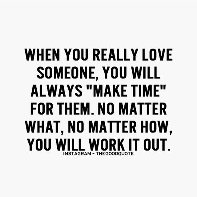 when you really love someone, you will always \