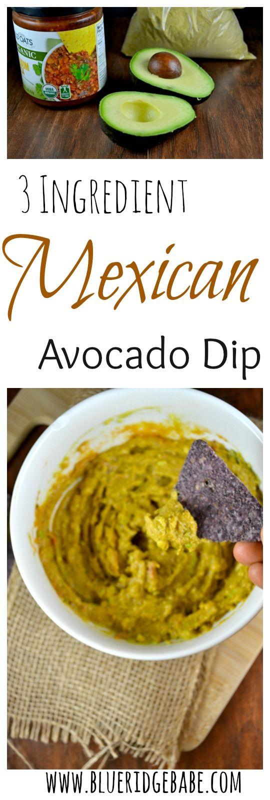 Vegan cheesy Mexican avocado dip