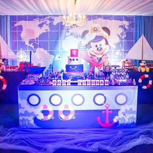 Festa Mickey, mickey marinheiro, bolo marinheiro, bolo mickey, decoração mickey marinhiero, festa infantil, decoração luxo, party mickey