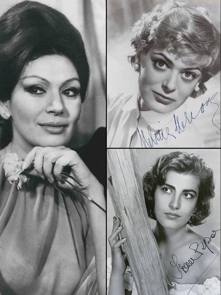 Rika Diallina, Melina Mercouri & Irene Papas
