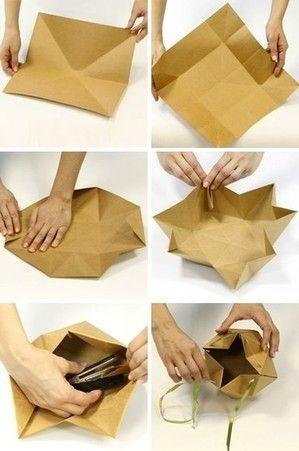 Geschenkverpackung Einschlagpapier