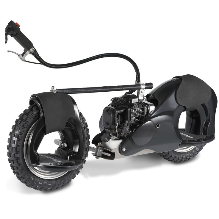The 20 MPH Motorized Wheelrider (Black). - Hammacher Schlemmer