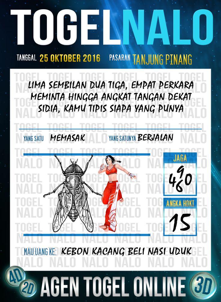Tafsir Syair Togel Wap Online Live Draw 4D TogelNalo Tanjung Pinang 25 Oktober 2016