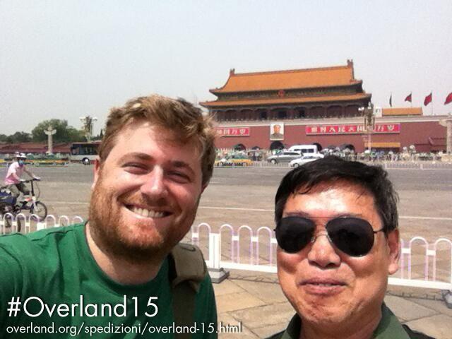 Lasciamo Pechino, e già un pezzo di #Cina viene via con noi #Overland15 http://www.overland.org/spedizionioverland-15.html