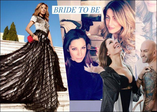 Μαριάντα Πιερίδη: Το προσκλητήριο του γάμου της με τον Δημήτρη Κατριβέση και η πρόβα στο νυφικό μακιγιάζ! [pics]