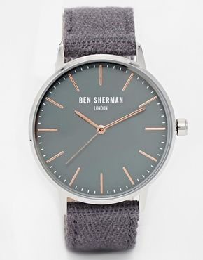 Enlarge Ben Sherman Canvas Strap Watch