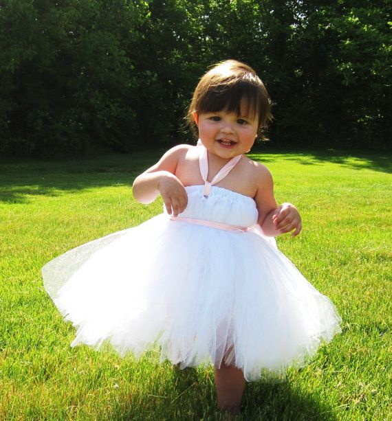 Tutu Dress Perfect for Weddings Newborn5t by mlaverd on Etsy, $35.00