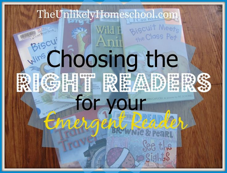 Choosing the Right Readers for Your Emergent Reader- The Unlikely Homeschool