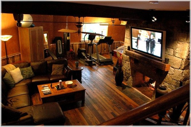 Lovely Basement Man Cave Designs