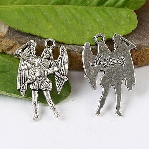 300 мигель и 300 рафаэль архангел прелести в тибетский серебряный цвет