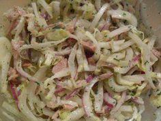 Chicoree Salat mit Thunfisch - Rezept
