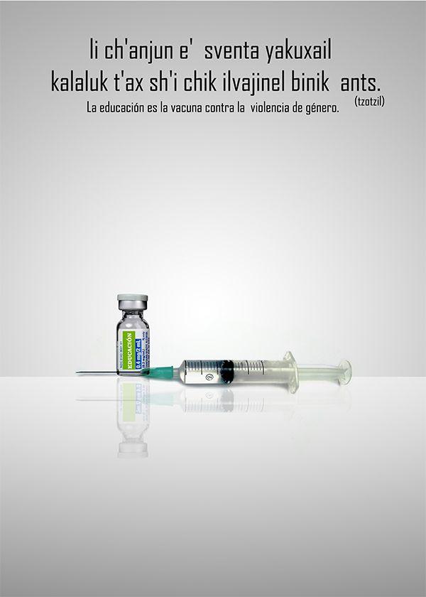 cartel ganador de la violencia contra el maltrato de genero