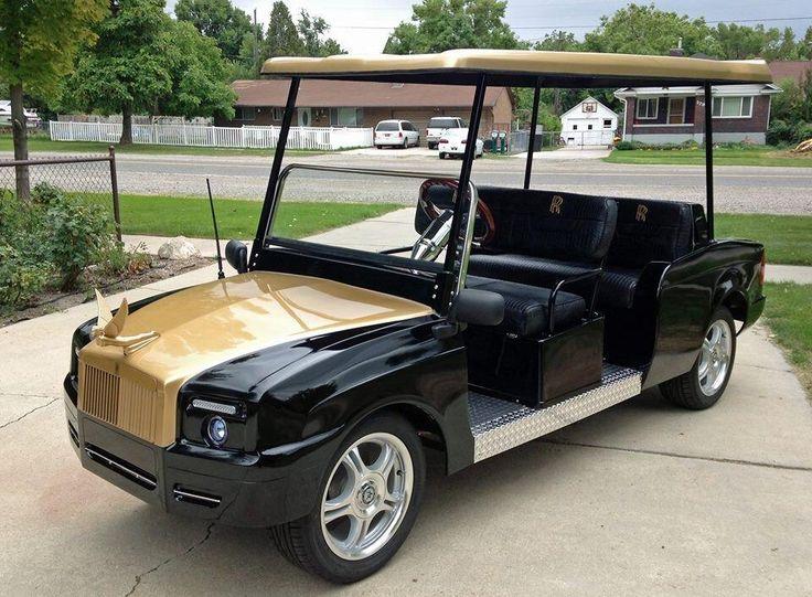 Rolls Royce Golf Cart >> Luxury Custom Rolls Royce Golf Cart~ | custom golf carts | Pinterest