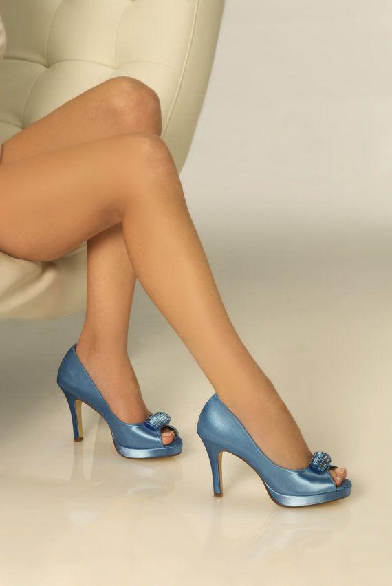 17 best Blue Wedding Shoes images on Pinterest