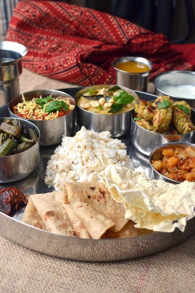 Gujarati Mini Thali