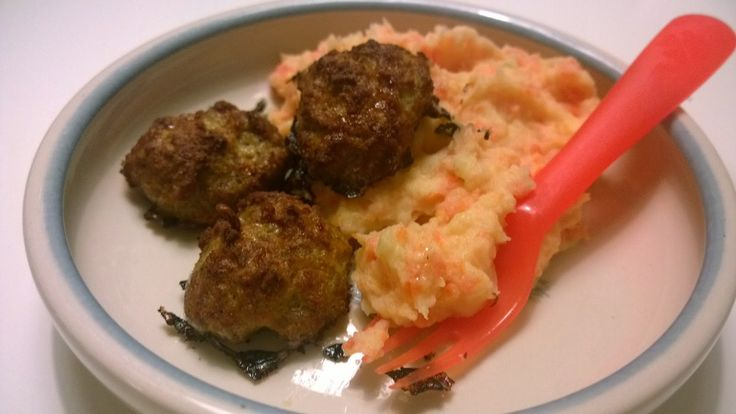 Glmamma: Sunnuntain peruna-porkkanamuusi ja lihapullat Herr...