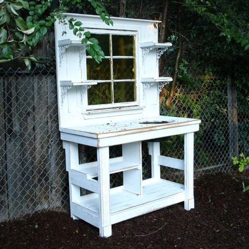 Garden Potting Bench | Potting_Bench_1z