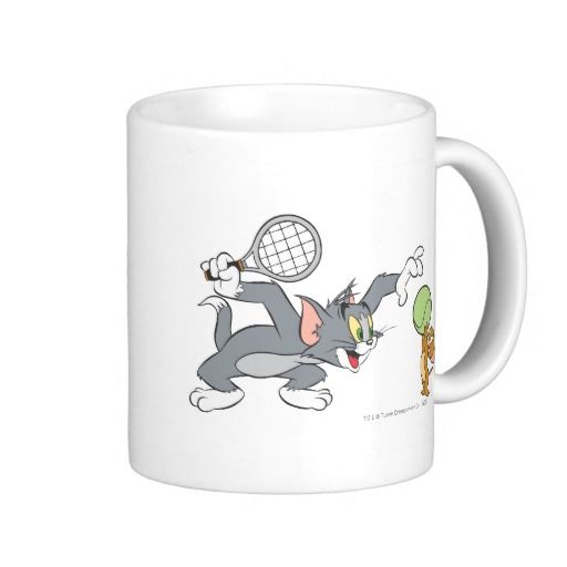 Estrellas de tenis de Tom y Jerry 2. Regalos, Gifts. Producto disponible en tienda Zazzle. Tazón, desayuno, té, café. Product available in Zazzle store. Bowl, breakfast, tea, coffee. Link to product: http://www.zazzle.com/estrellas_de_tenis_de_tom_y_jerry_2_taza_clasica-168367443669301929?lang=es&CMPN=shareicon&social=true&rf=238167879144476949 #taza #mug