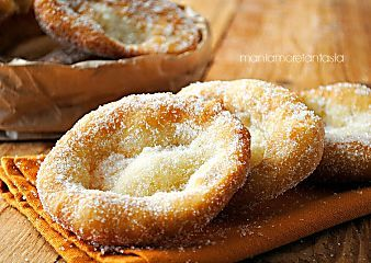 Frittelle del luna park, ricetta senza lievitazione | dolci fritti