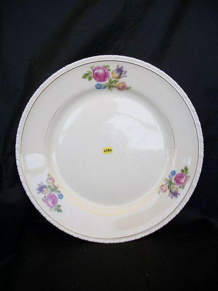 Prato raso vista alegre déc 60 porcelana R$ 45