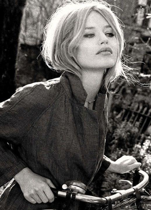 Georgia May Jagger Channels Brigitte Bardot In Vogue Italia (via Bloglovin.com )