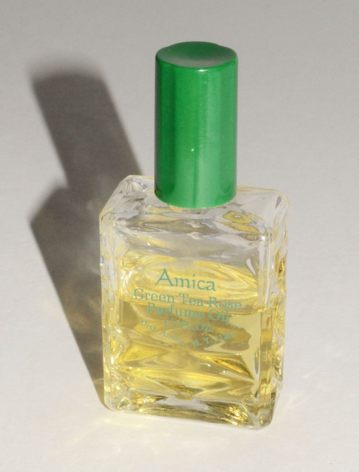 Green Tea Rose Perfume Oil By Amica