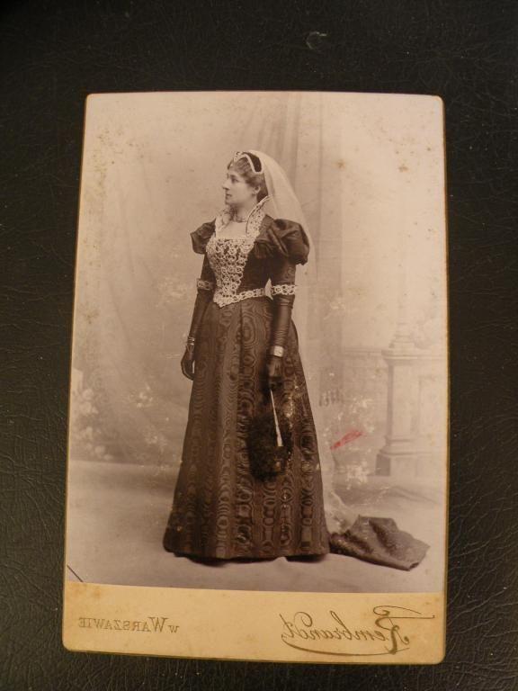 STARE ZDJĘCIE PRACOWNIA REMBRANDT 1880 R.