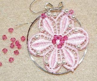 www.designverkstad.se: Brodera med pärlor.  Om du vill göra roliga saker till huset eller till dina smycken kan du använda broderade figurer som du köper där de har sytillbehör