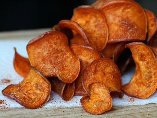 Barbecue sweet potato chips from Serious Eats