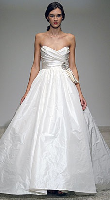 Amsale Collection: my dress someday.Amsale A584, Wedding Dressses, A Line Wedding, Sparkly Belts, Crystals Brooches, Amsale Melina, Dresses, A584 Melina, Sweetheart Neckline