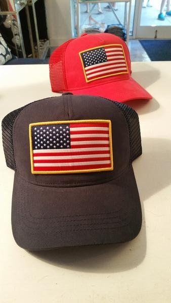 Shep Gear USA Flag Hat