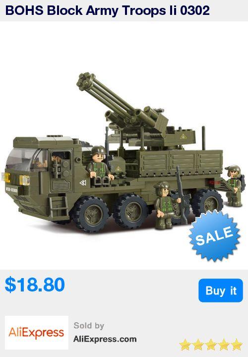 BOHS Block Army Troops Ii 0302 Heavy Truck Children Assembled Toys 306pcs * Pub Date: 02:52 Jul 9 2017