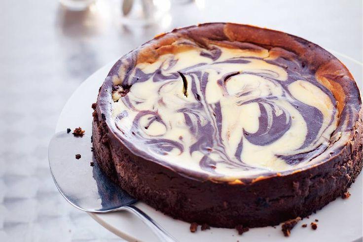 Gemarmerde chocoladecheesecake - Recept - Allerhande