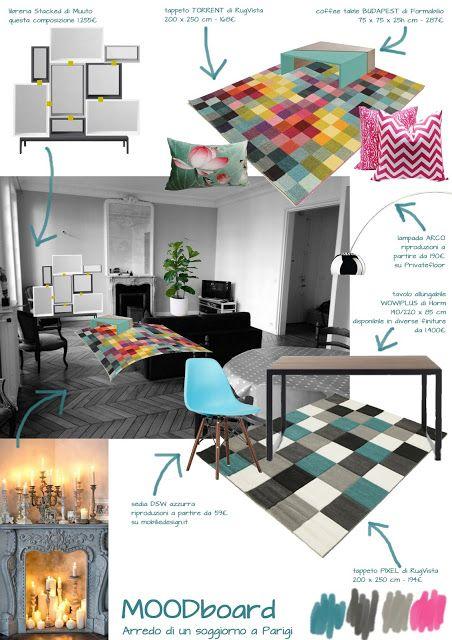 archiLAURA Home Design: Un soggiorno a Parigi | A living room in Paris