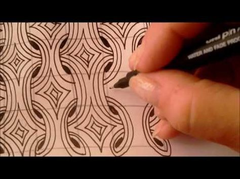 MI2~Zentangle Tutorial