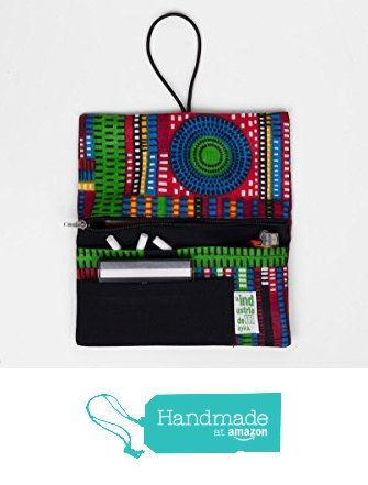Handmade Rolling Tobacco Pouch with Cotton Fabric Afrollage from La Industria https://www.amazon.com/dp/B01I9JGW5U/ref=hnd_sw_r_pi_dp_5T4Gxb0TKBR4Q #handmadeatamazon