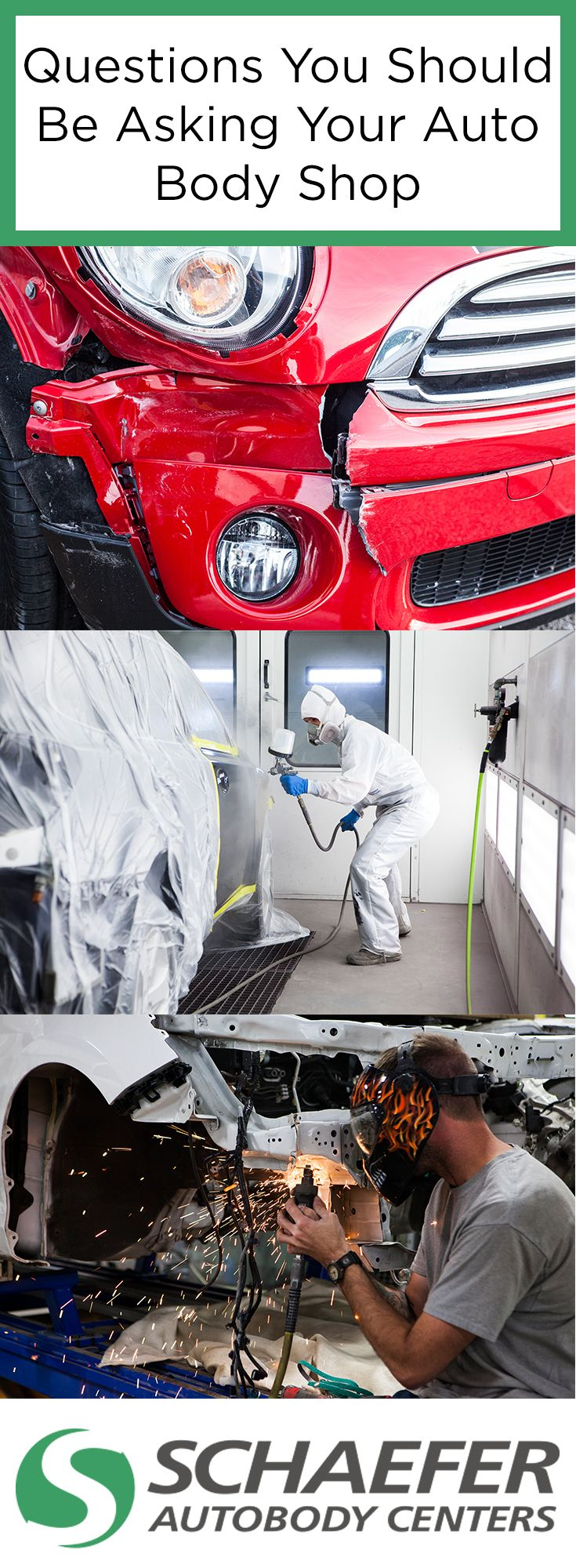 There are a lot of important questions that need answered in the auto body repair process