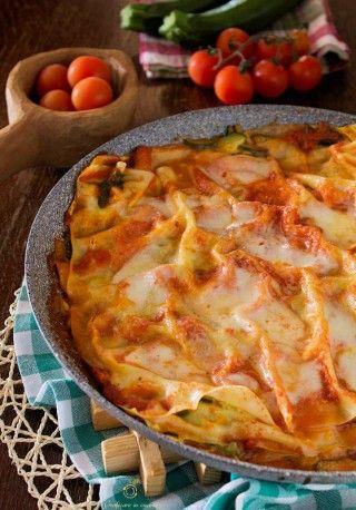 Lasagne senza forno zucchine mozzarella pomodoro http://blog.giallozafferano.it/graficareincucina/lasagne-senza-forno-zucchine-mozzarella-pomodoro/