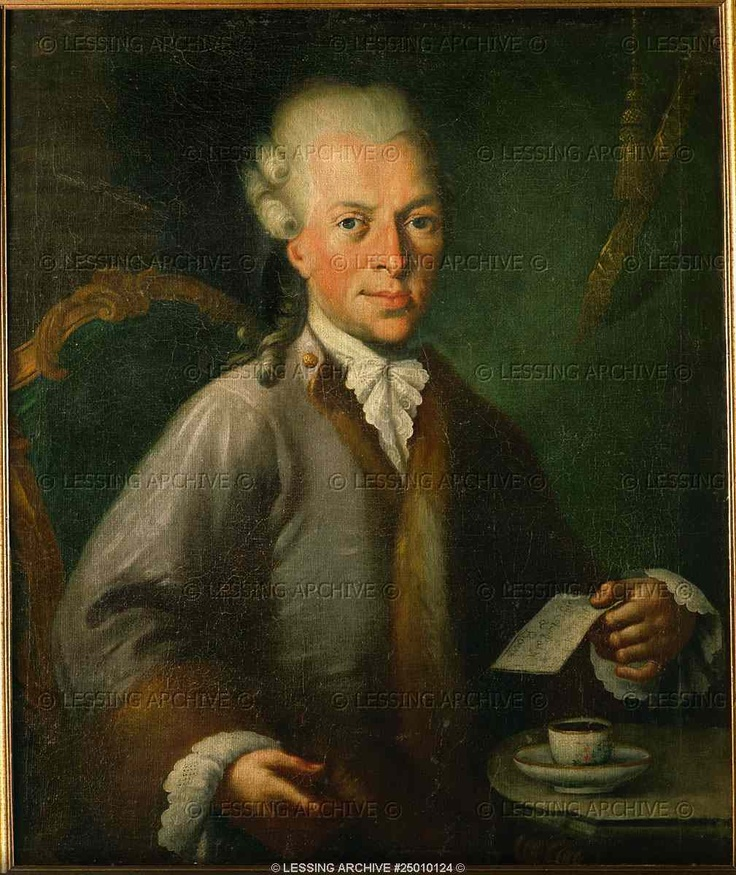 Johann Baptist von Berchtold zu Sonnenburg (1736-1801), husband of Mozart's sister Anna Maria (Nannerl). Oil on canvas (1785)  Mozart House, Salzburg, Austria