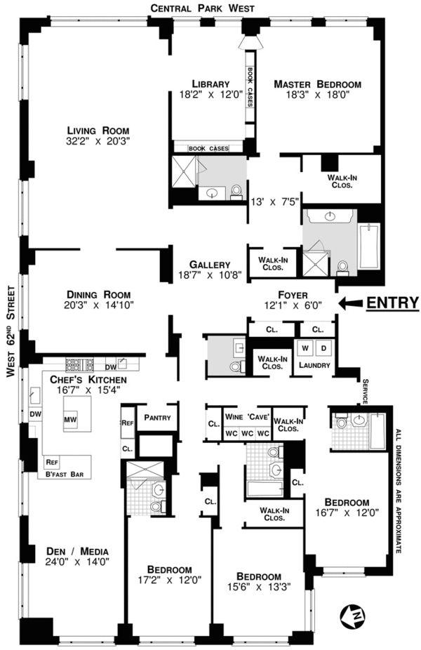 128 best apartment floor plans images on pinterest | architecture