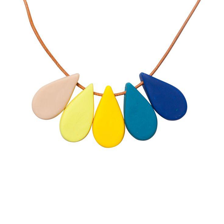 Hello Petal necklace - Iris - hardtofind.