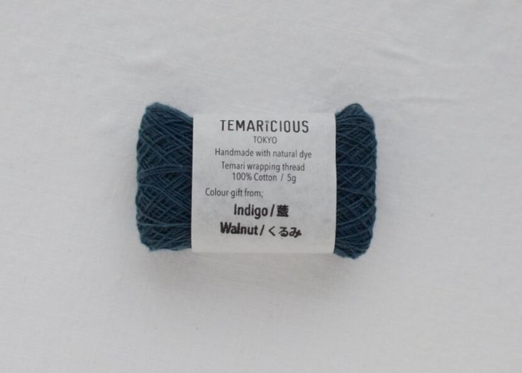 Temaricious thin thread 5g/140m no.B11  for Temari wrapping, embroidery, sashiko, kogin etc.