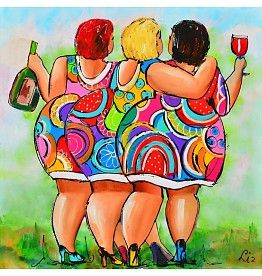 Dikke Dames Schilderij Dikke Dames In 2018 Pinterest Painting