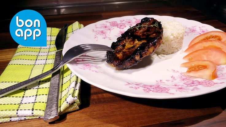 Свиная корейка в бальзамическо-кленовом соусе